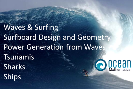 Ocean mathematics into slide