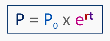 Population Growth Formula