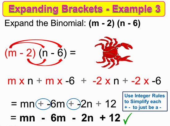 Expanding Two Bracket Binomials 11