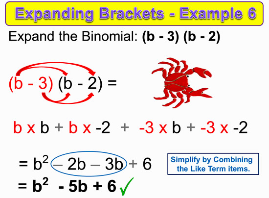 Expanding Two Bracket Binomials 15