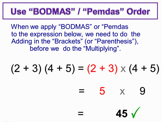 Expanding Two Bracket Binomials 5