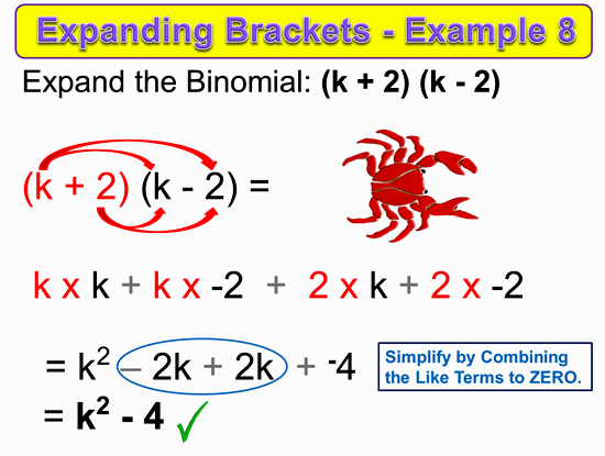 Expanding Two Bracket Binomials 17