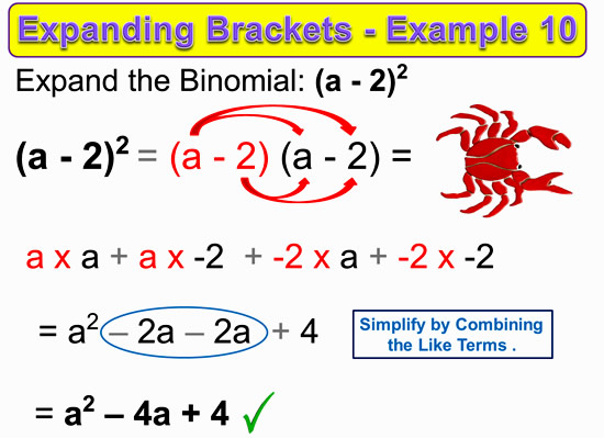 Expanding Two Bracket Binomials 19