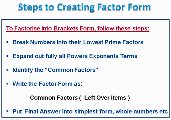 Factorising Greatest Common Factor 6