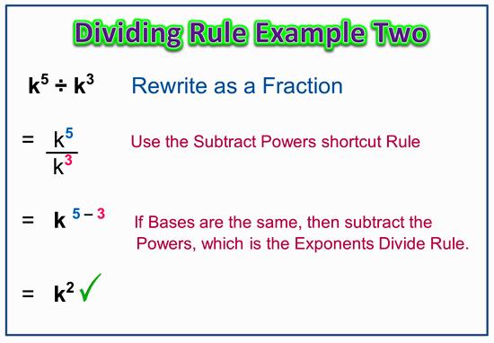 Dividing Powers 5