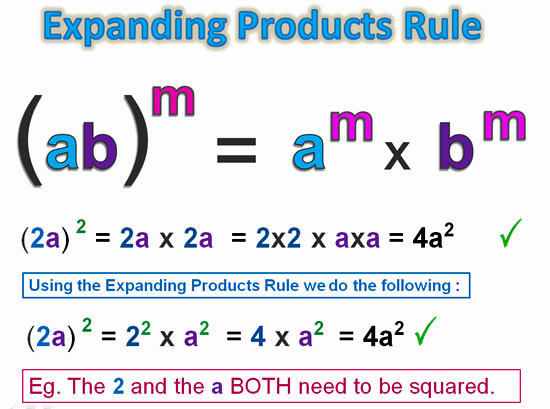 Expanding Exponent Products 2
