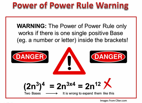 Exponents Power Rule 8