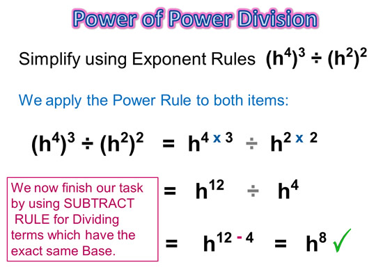 Exponents Power Rule 13