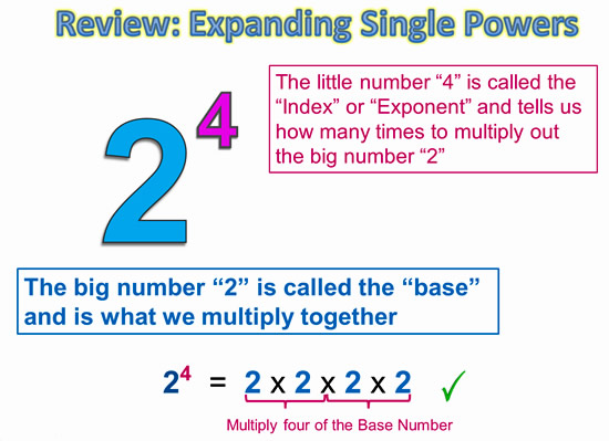 Exponents Power Rule 3