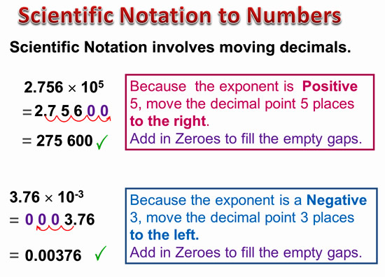 Scientific Notation 7