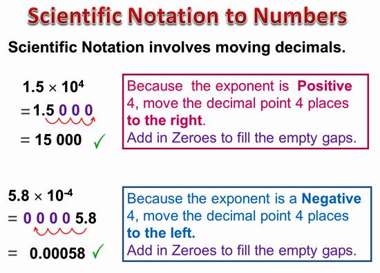 Scientific Notation 6