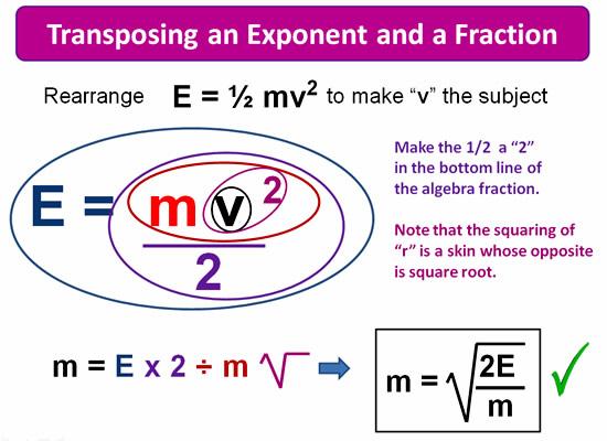 Rearranging Formulas 8