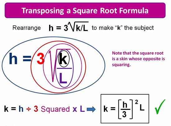 Rearranging Formulas 11