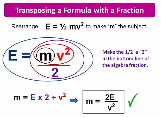 Rearranging Formulas 7