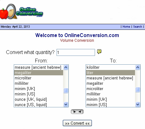 Metric Conversion Twelve