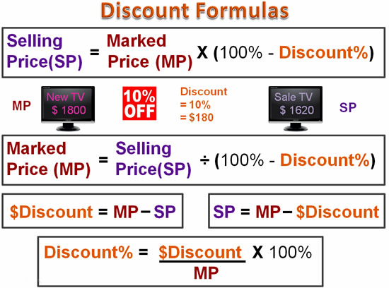 Discount Mathematics Ten