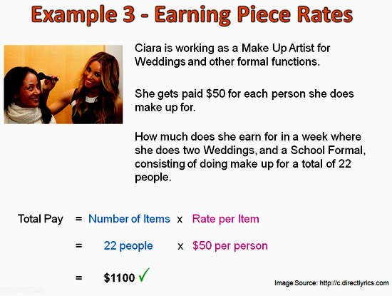 Earning Money Math 3