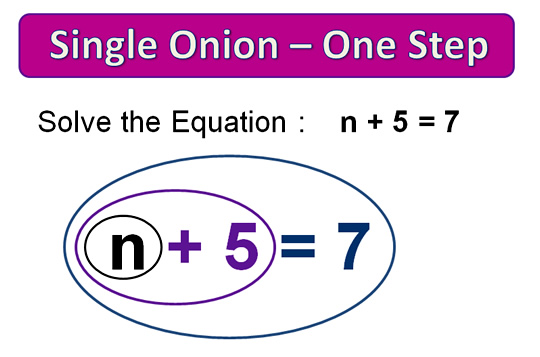 Onion Skin Solving Equations Nine