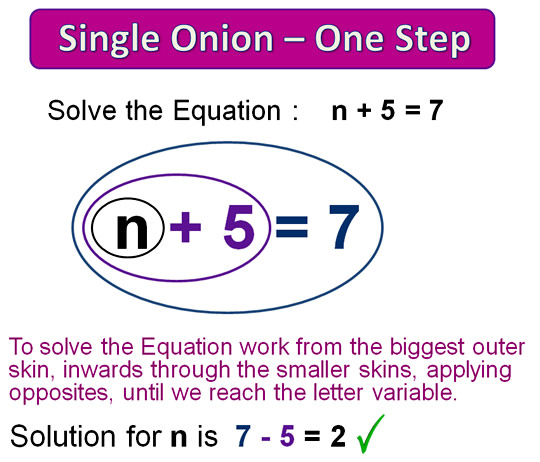 Onion Skin Solving Equations Ten