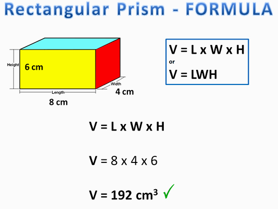 Volume of Prisms | Passy's World of Mathematics
