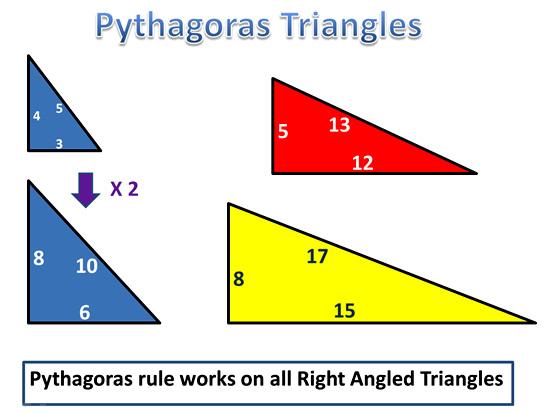 Pythagoras Theorem Ten