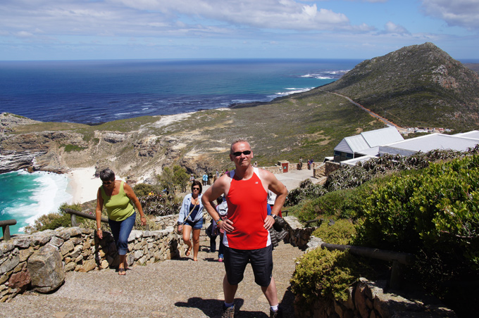 PW Africa Trip Cape of Hope Up Hill to Lighthouse