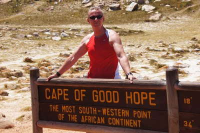 PW Africa Trip Passy at Cape Sign