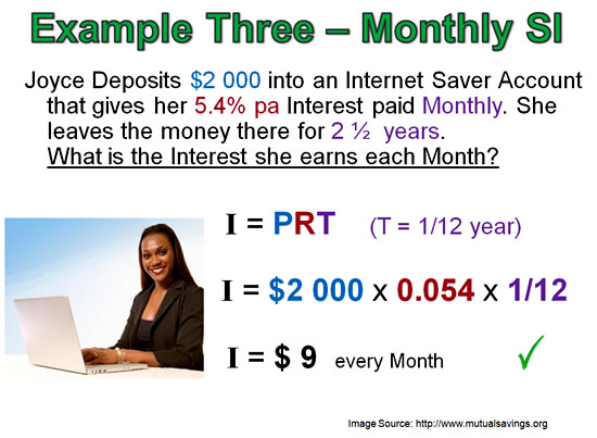 Simple Interest Example 3 Pt 1