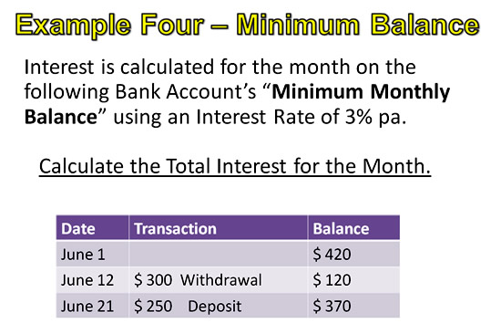 Simple Interest Example 4 Pt 1