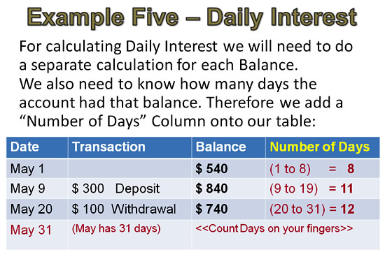 Simple Interest Example 5 Pt 2