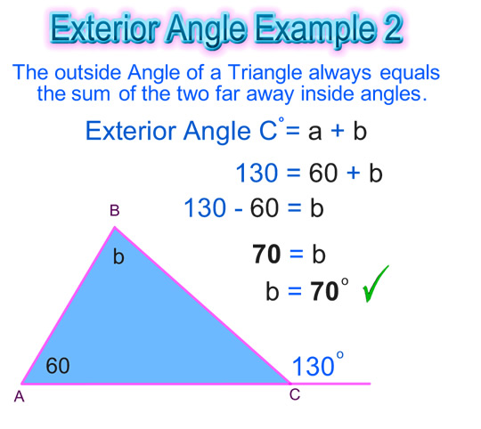 Exterior Angles Triangle Worksheet Home Decor