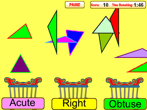 Classifying Triangles Game 2