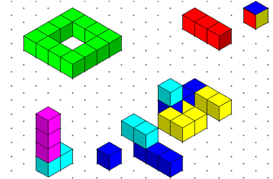 Isometric Cubes Mathematics