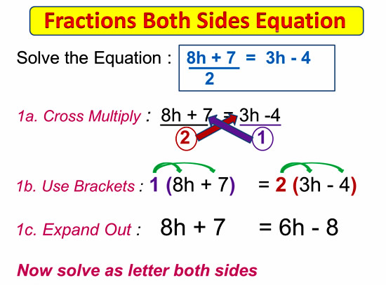 Fractions on Both Sides Equations 5
