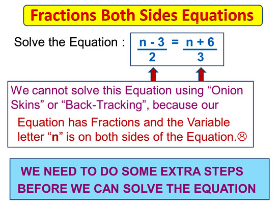 Fractions on Both Sides Equations 1