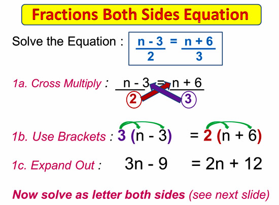 Fractions on Both Sides Equations 3