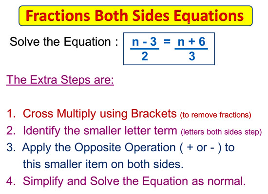 Fractions on Both Sides Equations 2