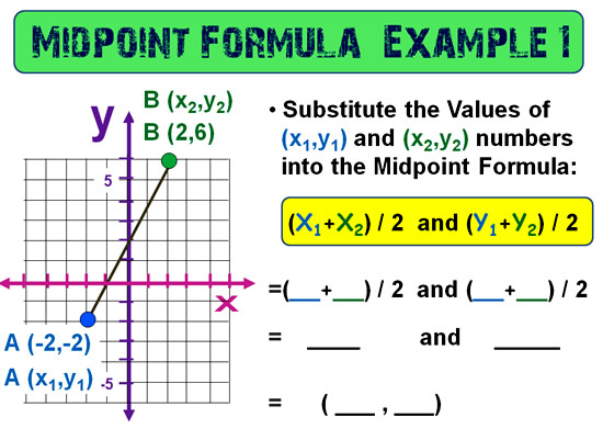 Midpoint Between Points 8