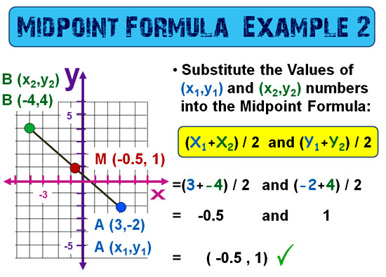 Midpoint Between Points 11