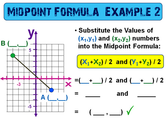 Midpoint Between Points 10