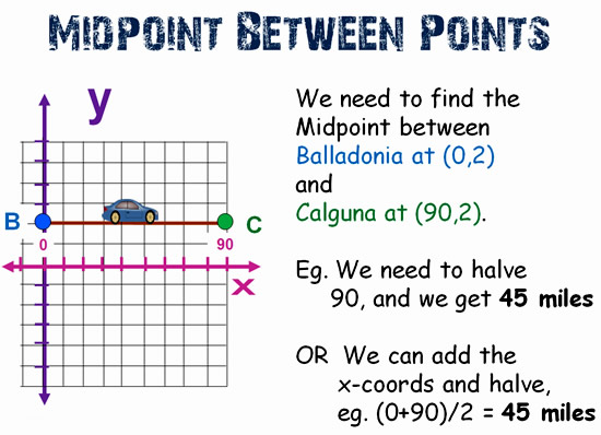 How to find endpoint with midpoint and one endpoint | study. Com.