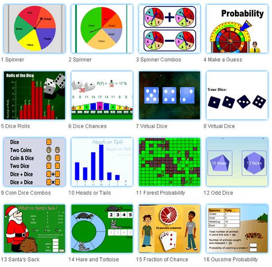 Probability Online Activities 2