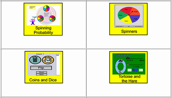 Probability Online Activities One