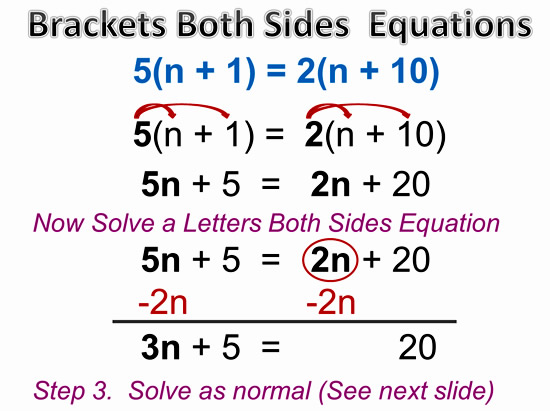 Variable on Both Sides Equations 8