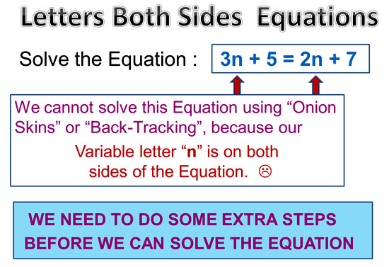 Variable on Both Sides Equations 1