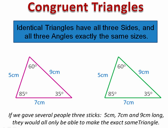 Congruent Triangles – Congruent Triangles Worksheet