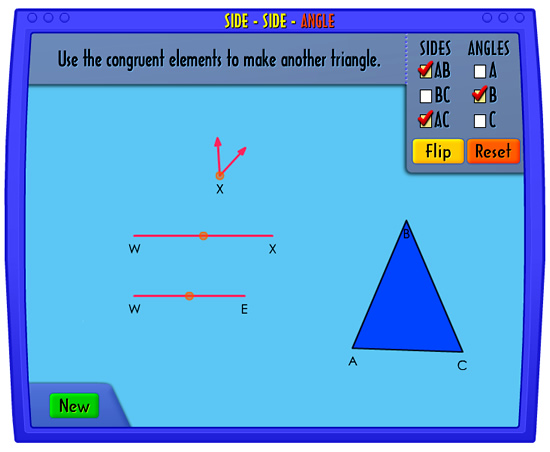 Congruent Triangles Game 3
