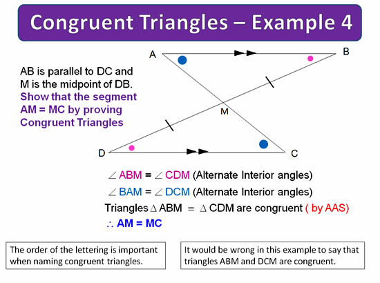 Congruent Triangles 17
