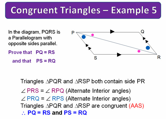 Congruent Triangles 18