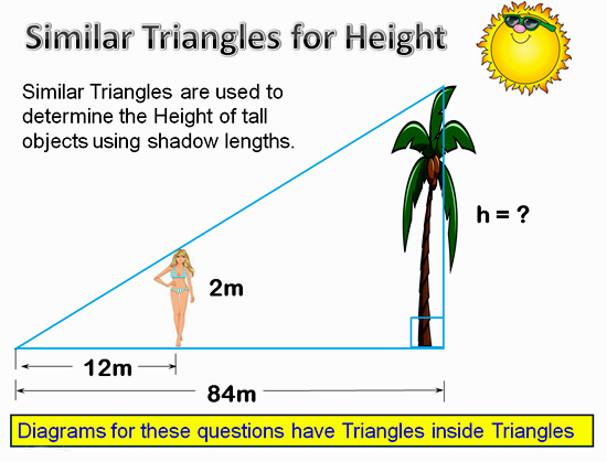 Similar Triangles Applications 8